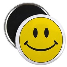 Big Yellow Happy Face Magnet