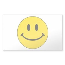 Big Yellow Happy Face Decal