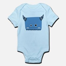 Blue Horned Monster Infant Bodysuit