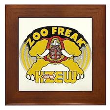 KZEW The Zoo (1975) Framed Tile