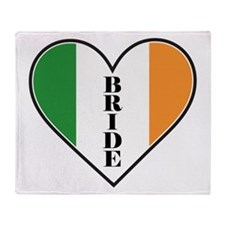 IRISH BRIDE Throw Blanket