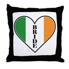 IRISH BRIDE Throw Pillow