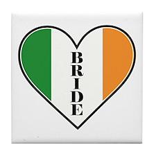 IRISH BRIDE Tile Coaster