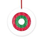 Maldives Roundel Ornament (Round)