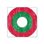 Maldives Roundel Square Sticker 3