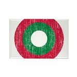 Maldives Roundel Rectangle Magnet (100 pack)