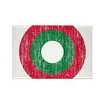 Maldives Roundel Rectangle Magnet (10 pack)