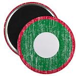 Maldives Roundel Magnet
