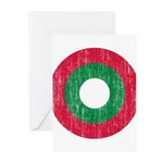 Maldives Roundel Greeting Cards (Pk of 10)