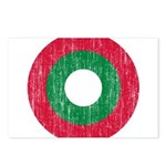 Maldives Roundel Postcards (Package of 8)