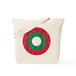 Maldives Roundel Tote Bag