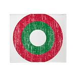 Maldives Roundel Throw Blanket