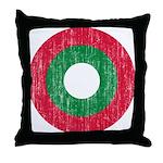Maldives Roundel Throw Pillow