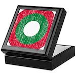 Maldives Roundel Keepsake Box