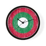 Maldives Roundel Wall Clock