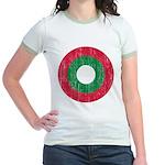 Maldives Roundel Jr. Ringer T-Shirt