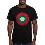 Maldives Roundel Men's Fitted T-Shirt (dark)