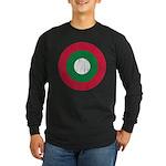 Maldives Roundel Long Sleeve Dark T-Shirt