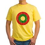 Maldives Roundel Yellow T-Shirt