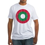Maldives Roundel Fitted T-Shirt