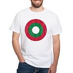 Maldives Roundel White T-Shirt