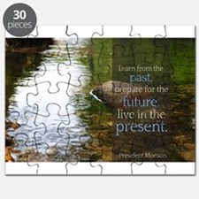 LDS Quotes- Learn from the past... Puzzle