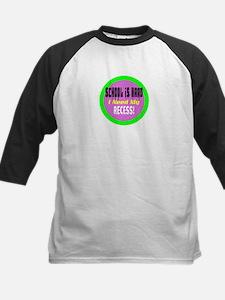 School is Hard/t-shirt Kids Baseball Jersey