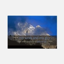 LDS Quotes- This is my work and my glory... Rectan