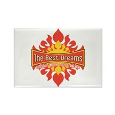 The Best Dreams Rectangle Magnet