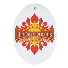 The Best Dreams Ornament (Oval)