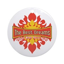 The Best Dreams Ornament (Round)