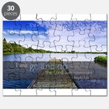 LDS Quotes- I will go and do... Puzzle