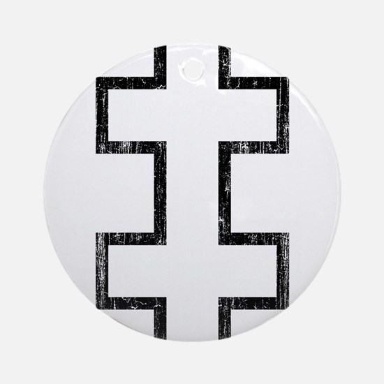 Lithuania Roundel Ornament (Round)
