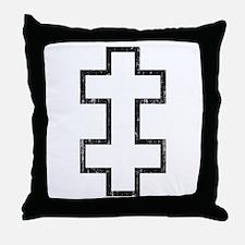 Lithuania Roundel Throw Pillow