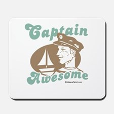 Captain Awesome -  Mousepad