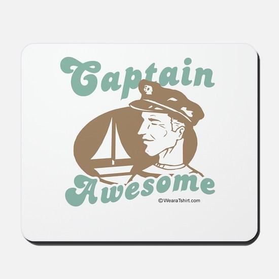 Captain Awesome -  Mousepad