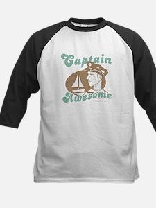 Captain Awesome -  Kids Baseball Jersey