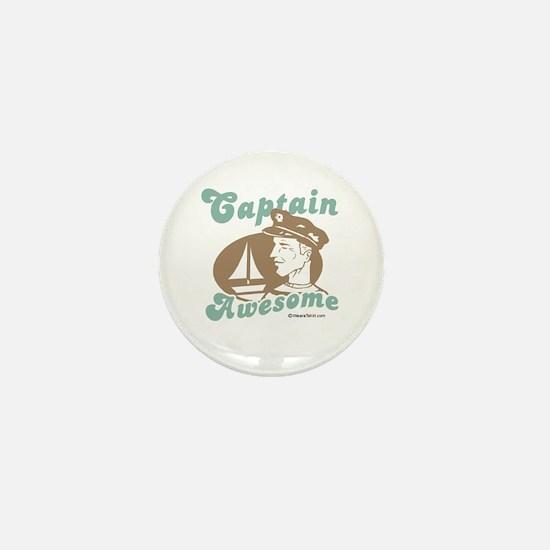 Captain Awesome - Mini Button