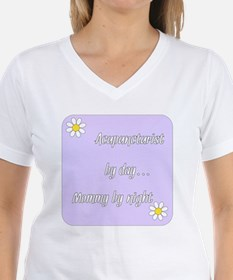 Acupuncturist by day Mommy by night Shirt
