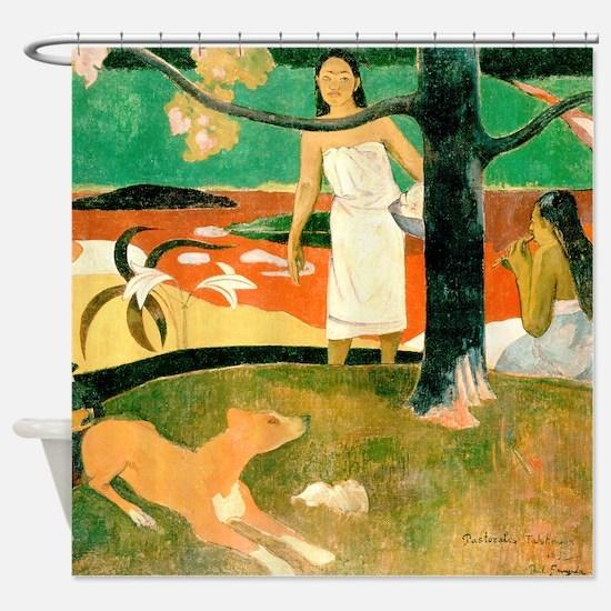 Gauguin Shower Curtain