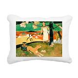 Paul gaugin Rectangle Canvas Pillows