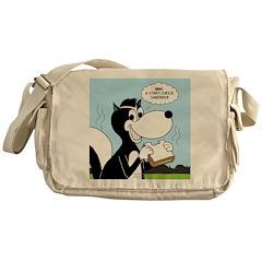 Stinky Cheese Sandwhich Messenger Bag