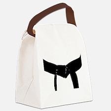 Martial Arts Black Belt Canvas Lunch Bag