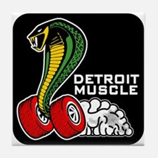 Detroit Muscle Tile Coaster