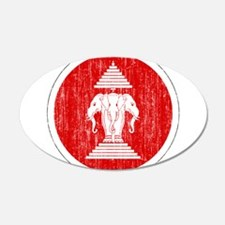 Laos Roundel Wall Decal