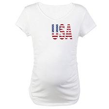 USA flag 2 Side Shirt