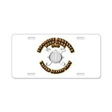 Navy - Rate - EOD Aluminum License Plate