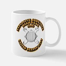 Navy - Rate - EOD Mug