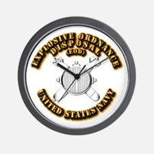 Navy - Rate - EOD Wall Clock