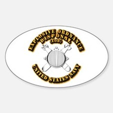 Navy - Rate - EOD Sticker (Oval)